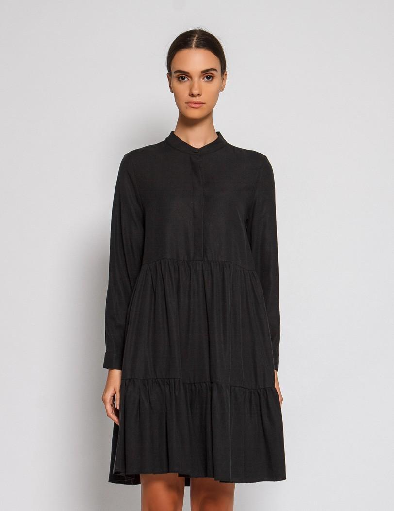 Black dress tencel