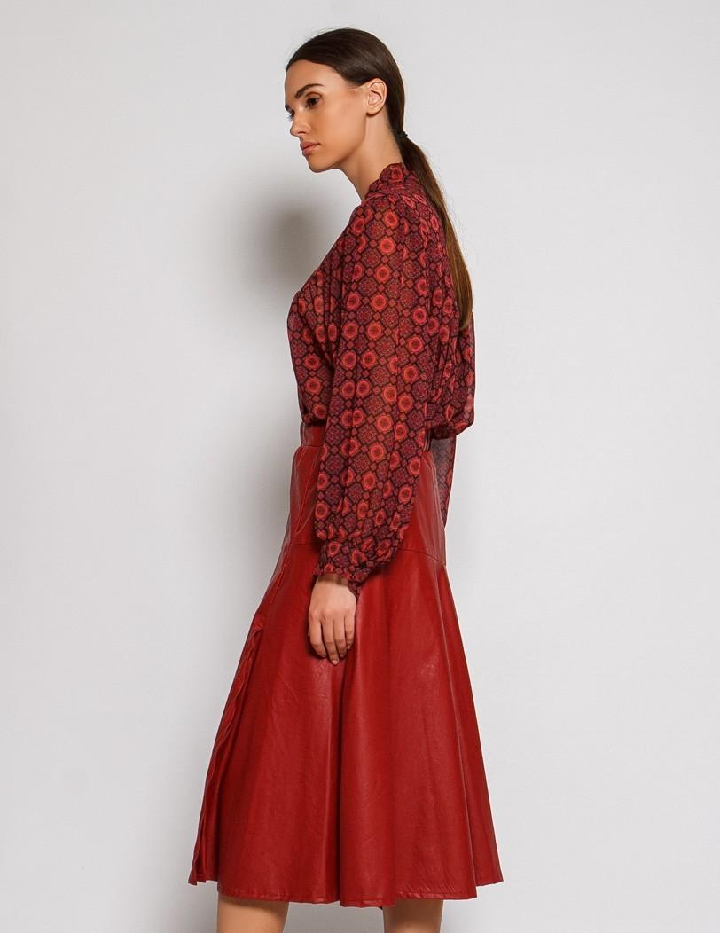 Bordeaux skirt