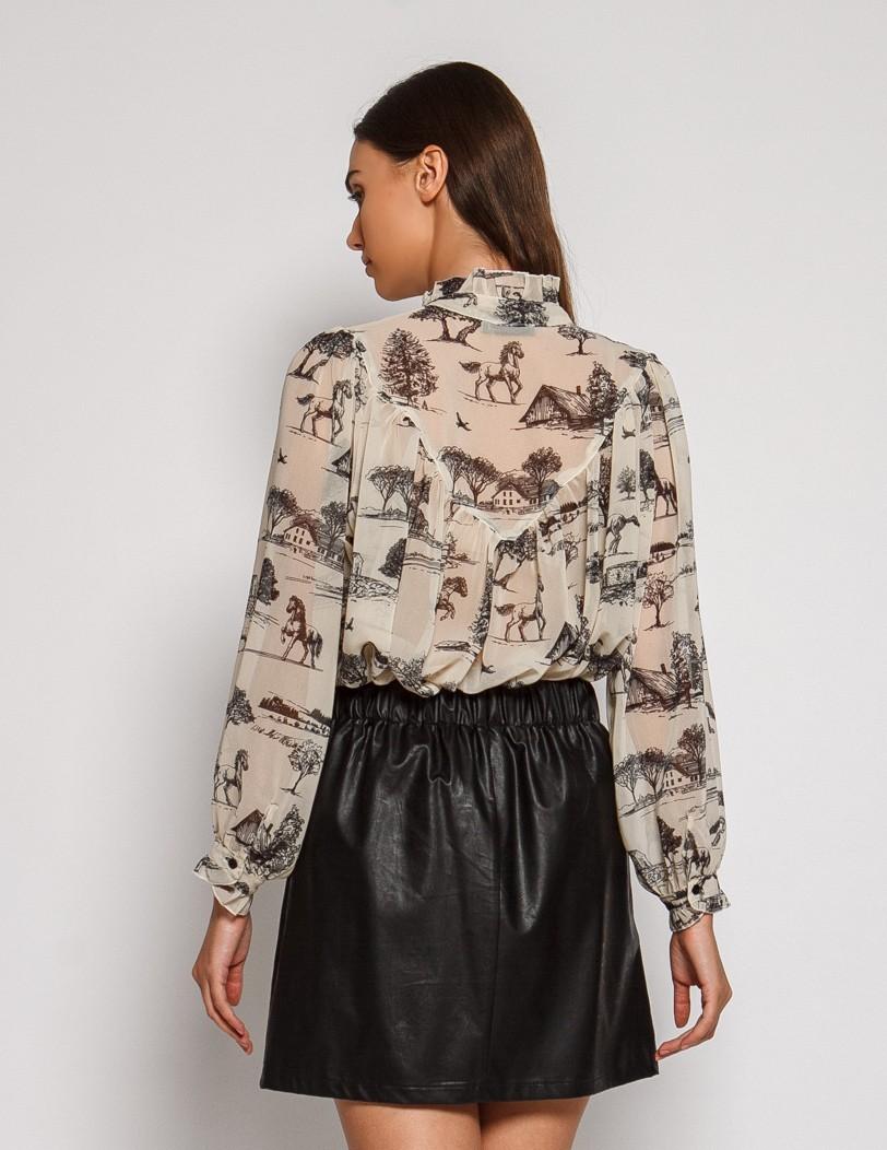 Μαύρη φούστα κοντή-comming soon